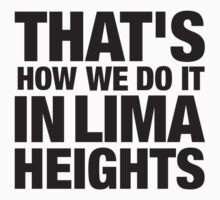 Lima Heights - Black by maudeline