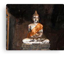 Buddha Statue Canvas Print