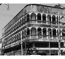 Old Town Phuket Architecture Photographic Print
