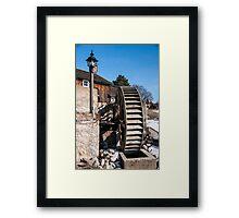 The Mill Wheel Framed Print