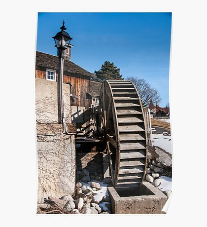The Mill Wheel Poster
