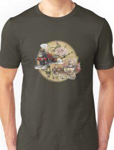 old-timey tea time Unisex T-Shirt