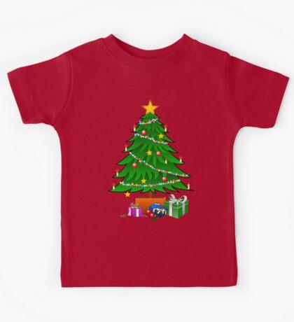 Christmas Tree and gifts - Kids Kids Tee