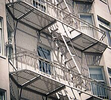 Exterior stairs. by brians101