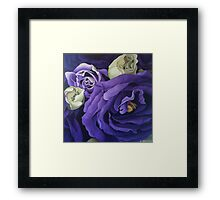 Sojourn in Purple Framed Print