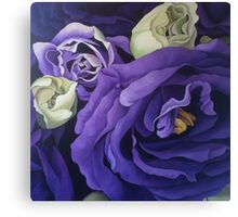 Sojourn in Purple Canvas Print