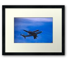 The Space Shuttle Framed Print