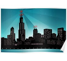 Chicago City line Poster