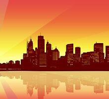 Sydney Sunset by Sandra Höfer