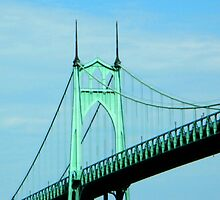 St. Johns Bridge - Portland by kchase