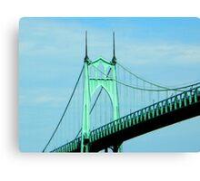 St. Johns Bridge - Portland Canvas Print