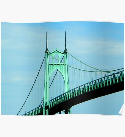 St. Johns Bridge - Portland Poster