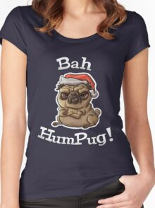 Bah HumPug! Women's Fitted Scoop T-Shirt