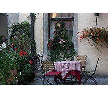 Cozy Corner Table Photographic Print