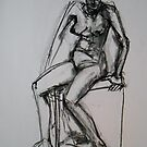 Bec semi seated position by Karen Gingell
