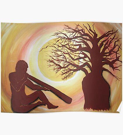 'Baobab  Dreaming' Poster