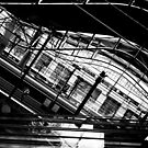Line of Southern Cross Station by Andrew Wilson