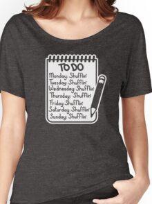 Shufflin Women's Relaxed Fit T-Shirt