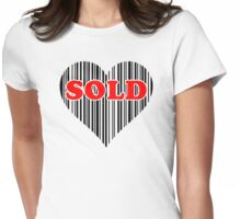 Sold Womens Fitted T-Shirt