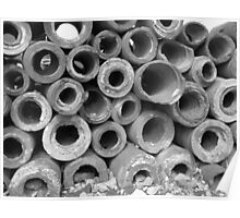 Age-old Pipes of Ephesus Poster