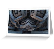 Inside the Bauhaus Energy Complex Greeting Card