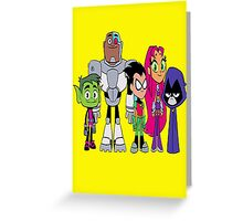 Teen Titans Go!  Greeting Card