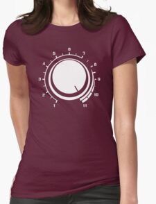 Volume Up Womens Fitted T-Shirt