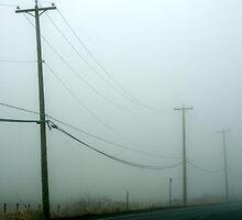 Foggy phone call by Jean Poulton