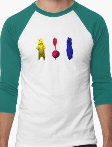 Bears, Beets, Battlestar Galactica (the office)  Men's Baseball ¾ T-Shirt