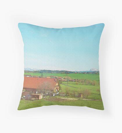 Simplicity Of Life Throw Pillow