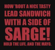 Lead Sandwich by McArtistic