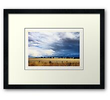Escaping the Storm Framed Print