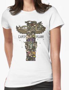 Camp Pilgrim Womens Fitted T-Shirt