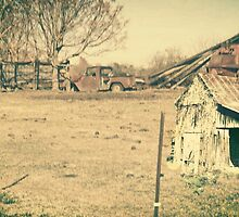 A Little Aged, Worn, Rusted, and Weathered But Not Forgotten by Charldia