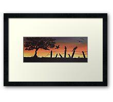 'Tranquil Morning' Framed Print
