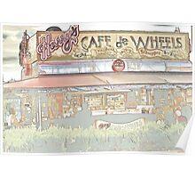 Harry's Cafe Woolloomooloo Poster