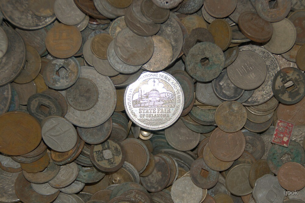 Coin collection by yook
