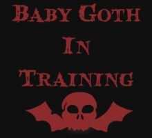 Baby Goth In Training - Kids One Piece - Short Sleeve