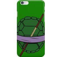 donatello TMNT single stick iPhone Case/Skin