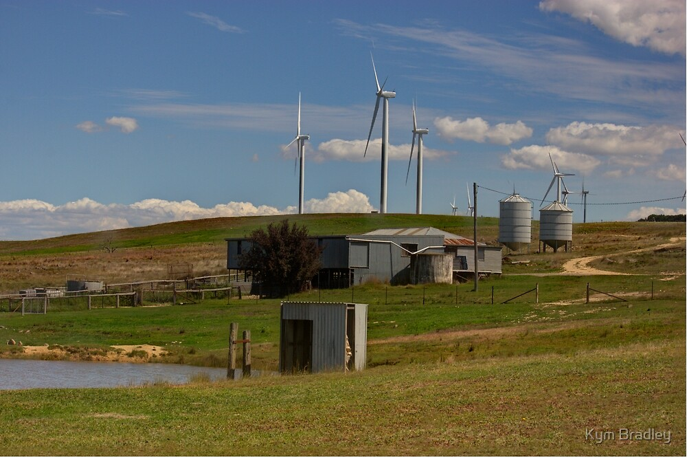 The Old and The New  Rural NSW  by Kym Bradley