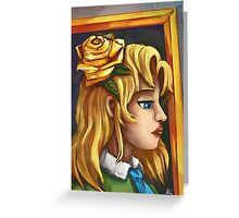Mary from Ib Greeting Card