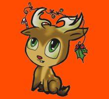 Cute Reindeer - Baby Kids Tee
