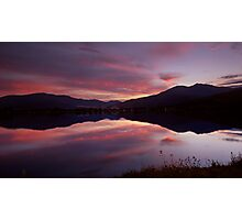 Reflections of Bogong Photographic Print