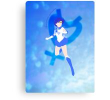 Agent of Water and Wisdom, Sailor Mercury Canvas Print