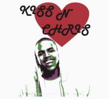 Chris Brown T shirt by RokkaRolla