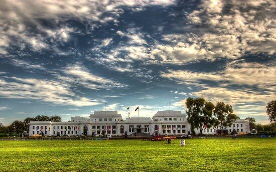 old parliament house Canberra Australia  by Kym Bradley
