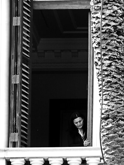 Behind Shutters ... by Berns