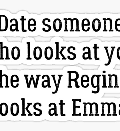 Date Someone Who - Swan Queen Sticker