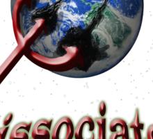 Psychiatry dissociates the world Sticker