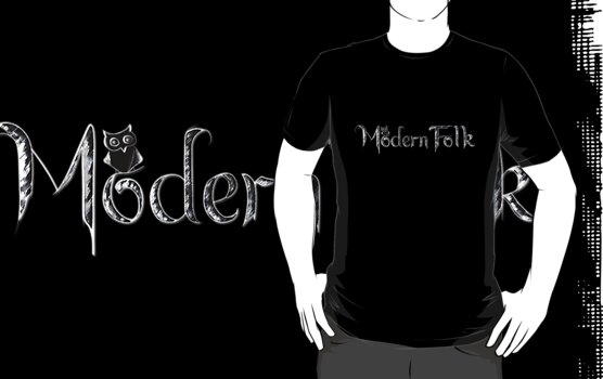'Modern Folk' Black by ModernFolk